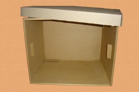 большая картонная архивная коробка #007