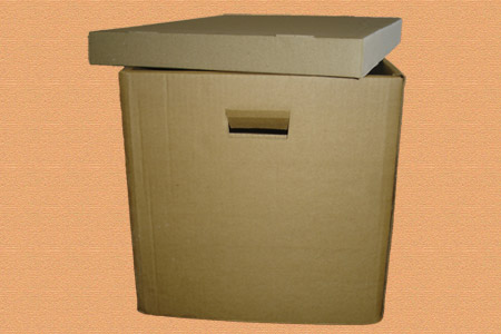 архивная коробка с крышкой #001