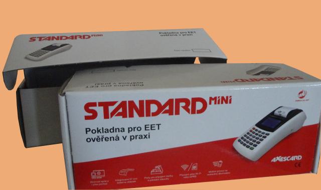 кашированая упаковка c логотипом STANDART