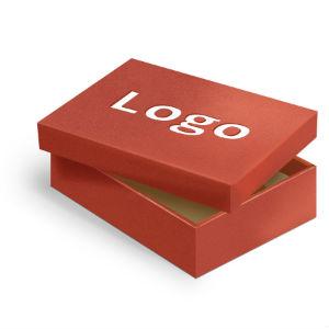 кашировка коробок с логотипом