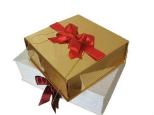 картонные коробки для подарков с оберткой