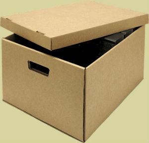 картонная коробка для архива