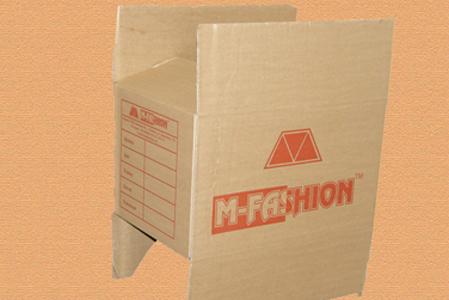 гофрированная упаковка с логотипом M-FASHION #004