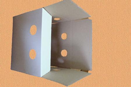 гофрированная упаковка #009