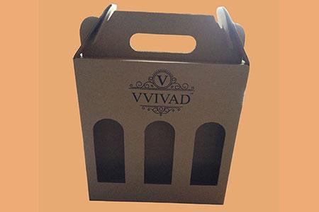 подарочная коробка с нанесением логотипа #021
