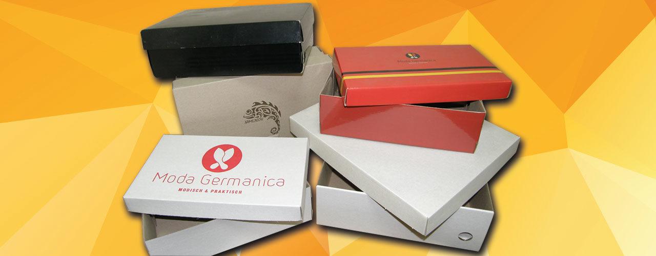 Картонная упаковка для обуви