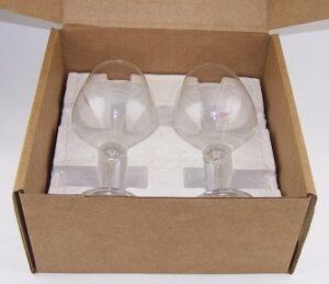 подарочные упаковки для бокалов